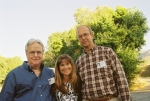 L-R Doug Dent, Pam Nelson, Doug Holt on a beautiful September evening