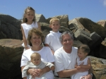 Oceanside with four of our Grandkids  we're up to 8  grands now.(Teresa McCormack Flegal)